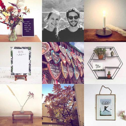 Mint & Limes Instagram Feed Collage, der erfolgreichsten Posts von 2018