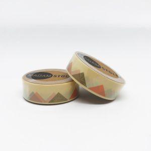 Retro Washi Tape von Madam Stoltz mit trendigen Dreiecken