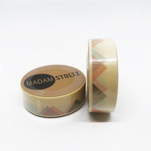 Washi Tape in retro Optik perfekt zum Verschönern von Geschenken